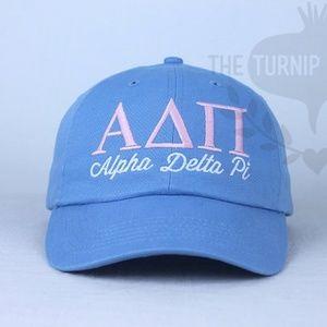 Personalized Alpha Delta Pi Sorority Baseball Cap
